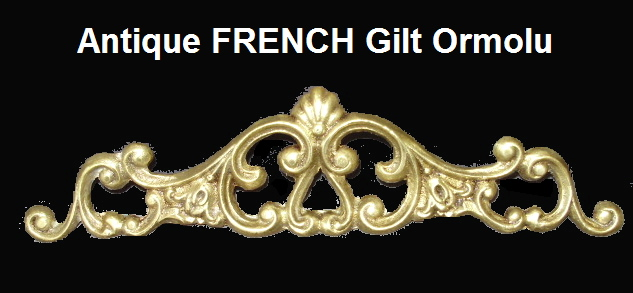 OLD Antique Vintage FRENCH Gilt BRONZE ORMOLU of Empire-grnorm